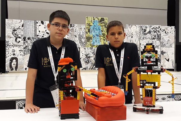 Young Croatian Roboticians Participate at RoboCup Junior Montreal International Competition